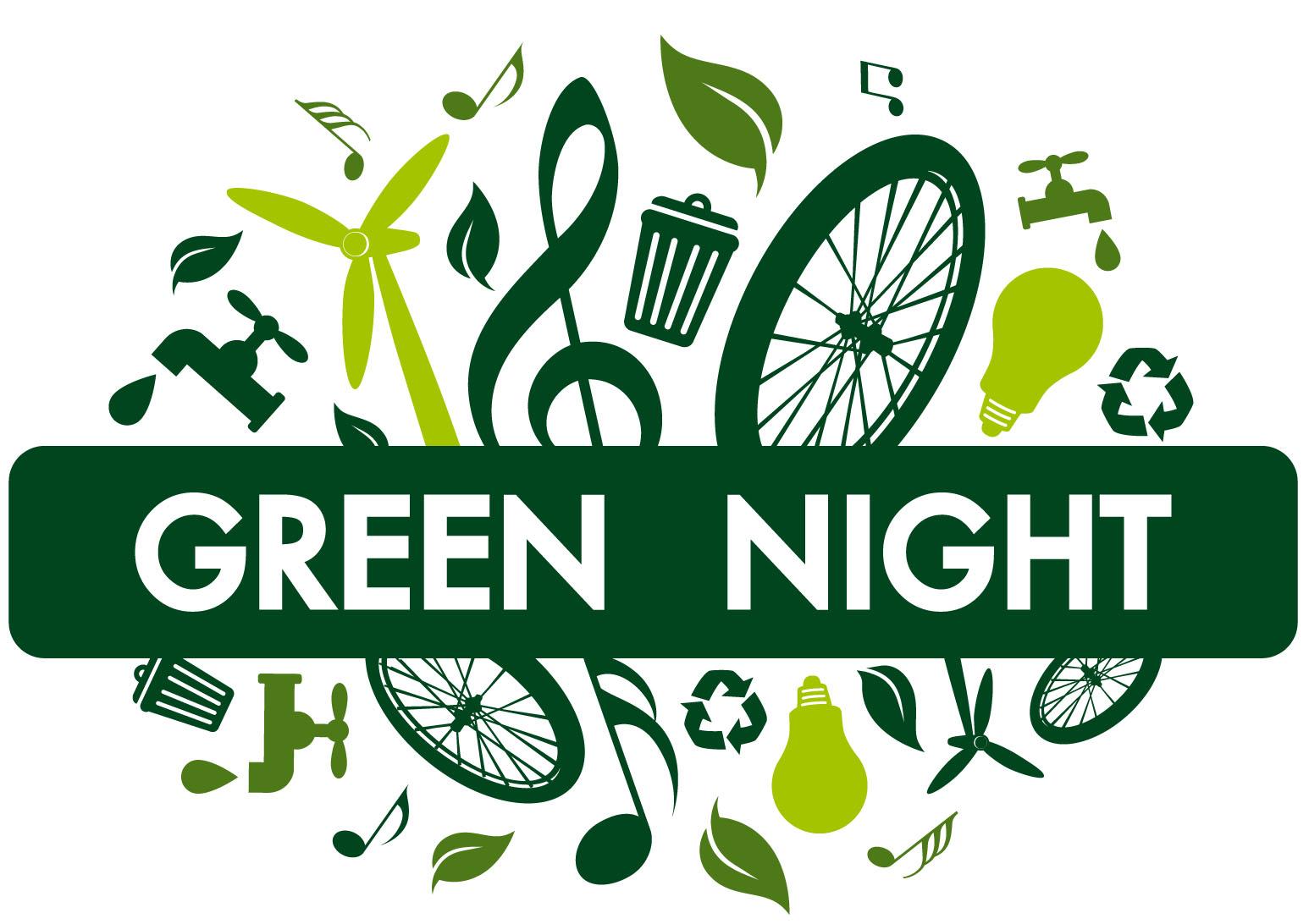 logo green night