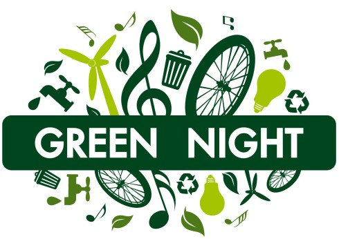 logo green night